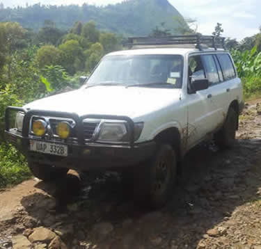 Cheap 4x4 Burundi Car Hire