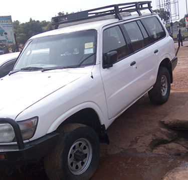 4x4 Car Rental in Burundi