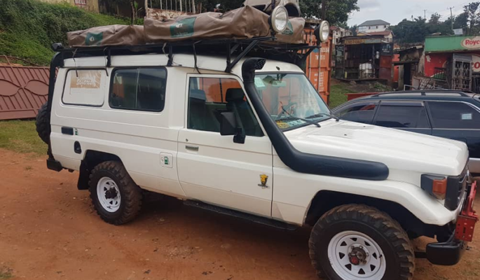 Double Roof Top Tent Land Cruiser